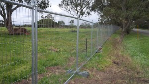 NTF300 Series Temporary Fencing - Victoria Project